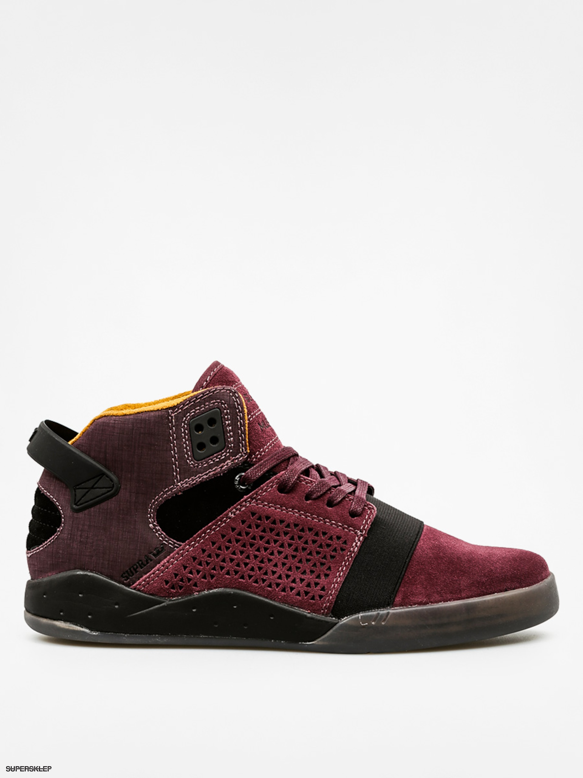 Buty Supra Skytop III (burgundy/black clear grey)