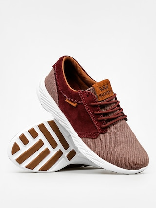 Buty Supra Hammer Run Nonstrtch (burgundy/brown white)