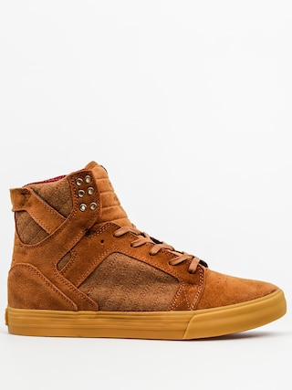 Buty Supra Skytop (brown/red gum)