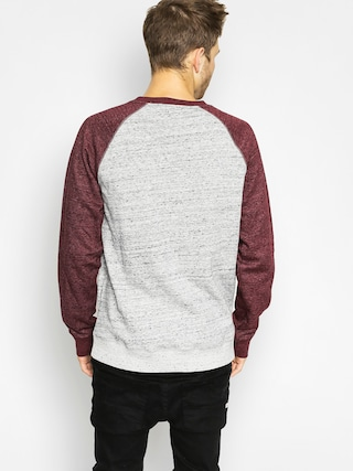 Bluza Element Meridian Cr (napa red/grey heather)