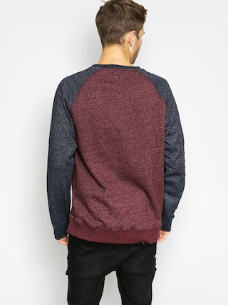 Bluza Element Meridian Cr (eclipse navy/napa red)