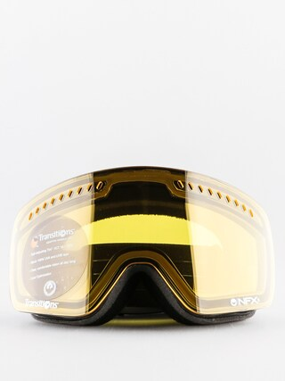 Gogle Dragon NFXS (flux grey/injected transition yellow)