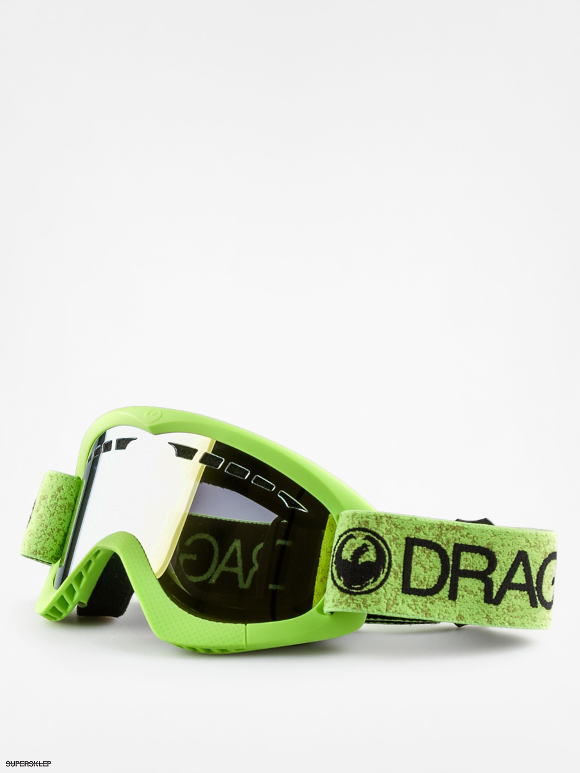 Gogle Dragon DXS (green/smoke gold ion)
