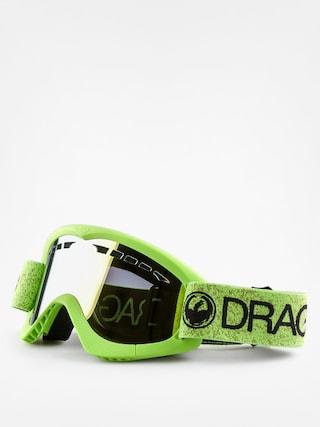 Gogle Dragon DXS (green/smoke gold ion)
