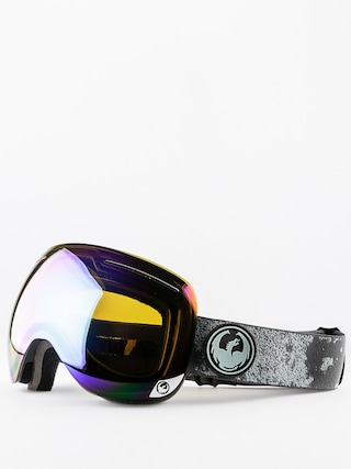 Gogle Dragon X1 (mason grey/flash green polarized)