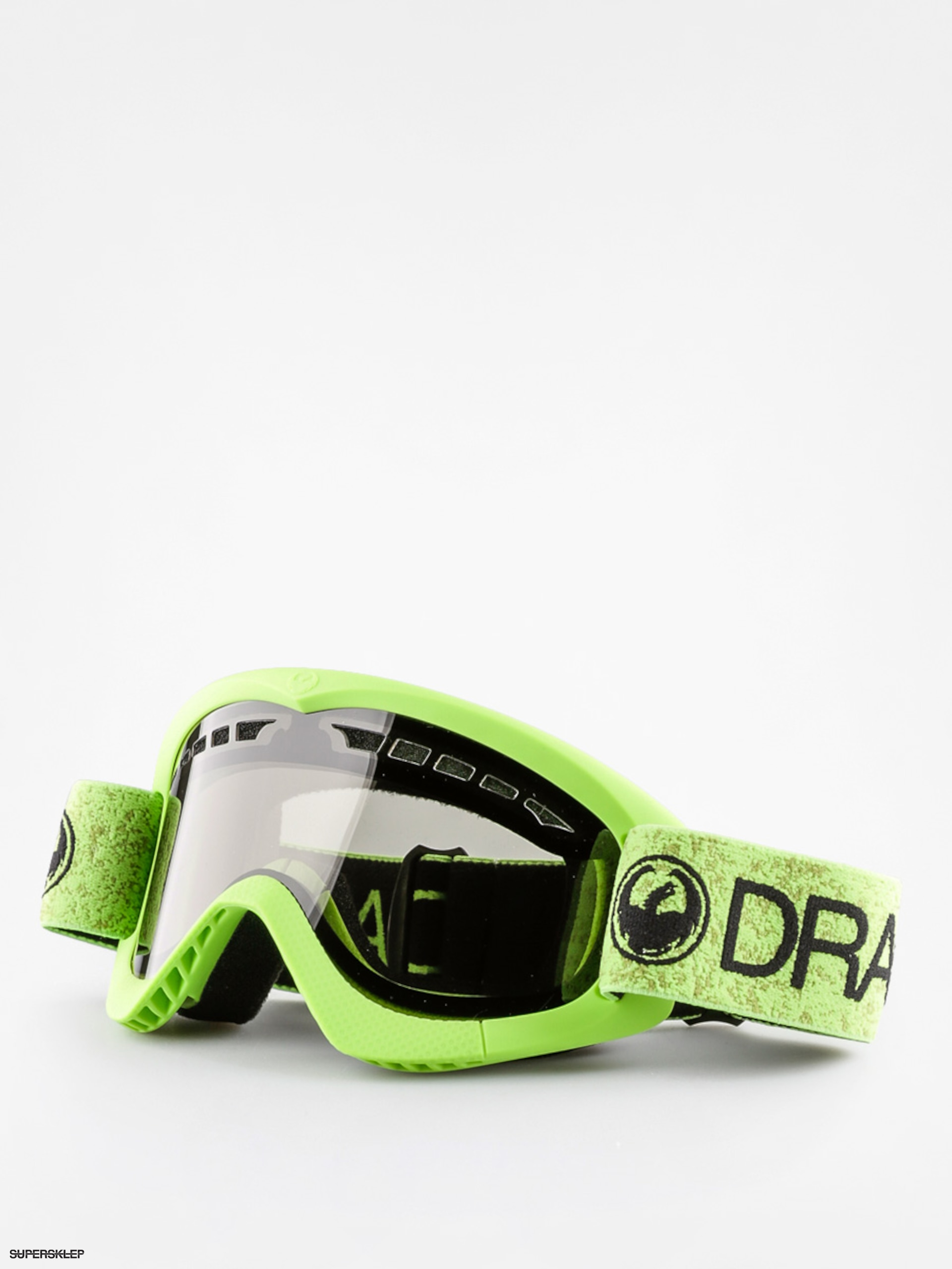 Gogle Dragon DXS (green/smoke)