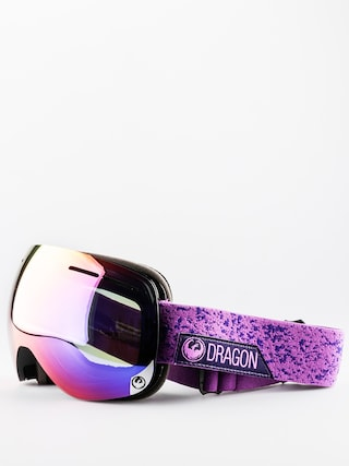 Gogle Dragon X1s (stone violet purple ion/yellow red ion)