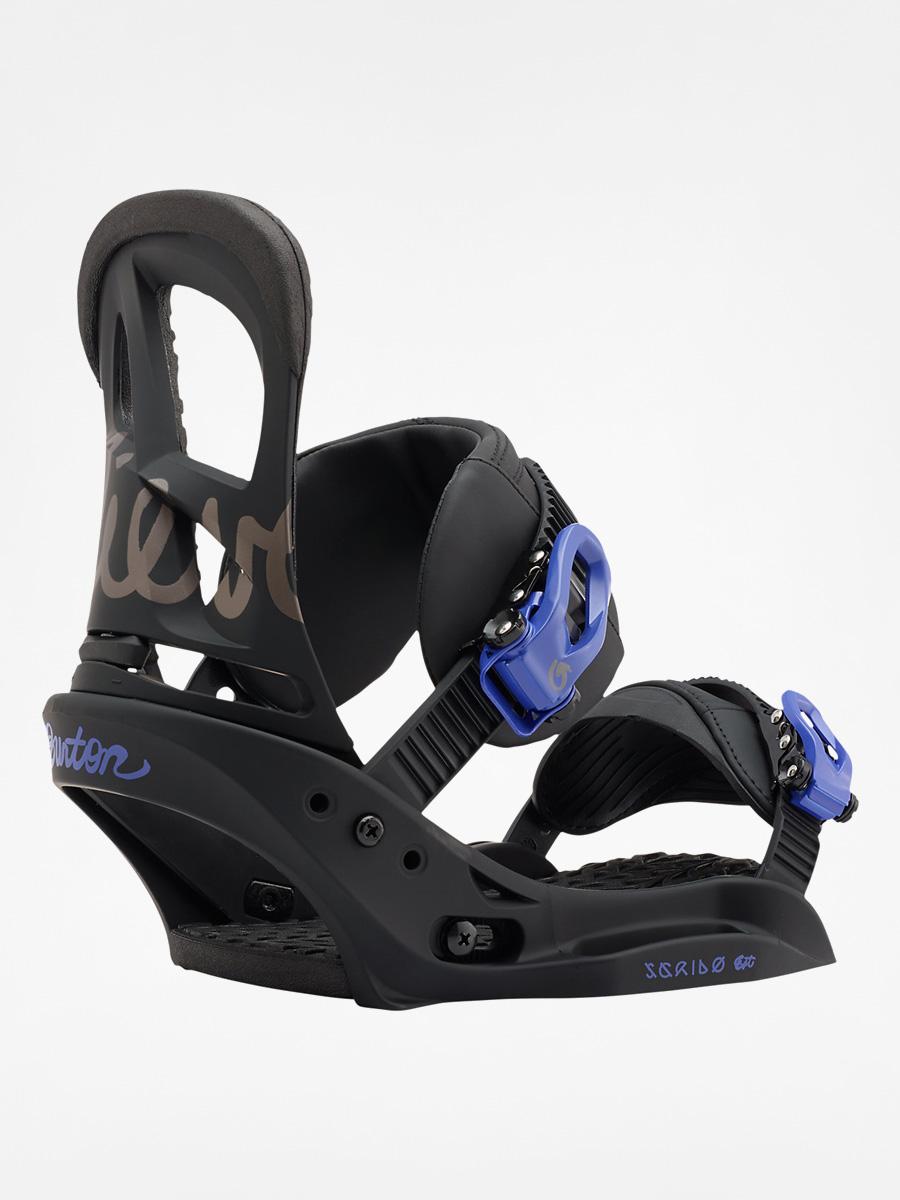 Wiu0105zania snowboardowe Burton Scribe Est Wmn (black/lavender)