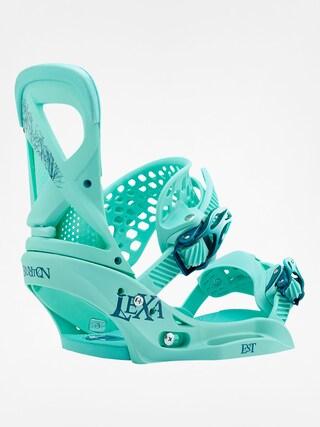 Wiązania snowboardowe Burton Lexa Est Wmn (the teal deal)