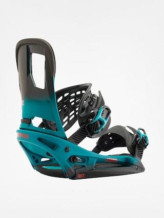 Wiązania snowboardowe Burton Cartel Est (teal fade)