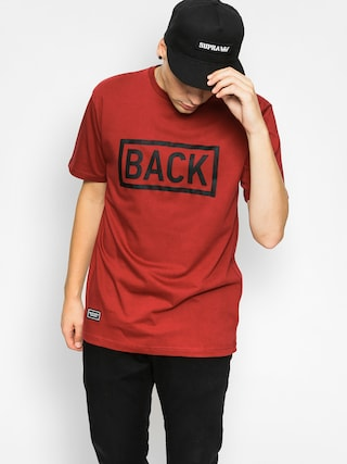 T-shirt Backyard Cartel Inset (burgundy)