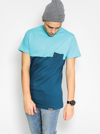 T-shirt Majesty Doppler (turquoise/indygo)
