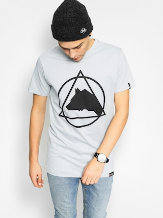 T-shirt Majesty Wolfshead (grey)