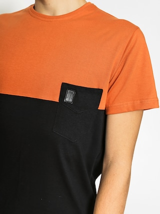 T-shirt Majesty Doppler (rust/black)