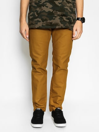 Spodnie Turbokolor Sunday Chino Slim Fit (khaki)