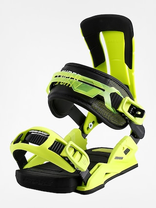 Wiązania snowboardowe Drake Super Sport (yellow fluo/black)