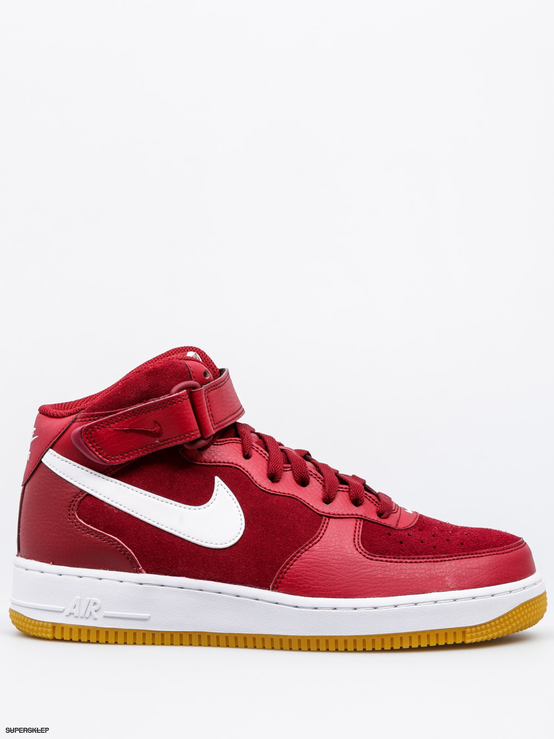 buty nike air force 1 mid '07 team red