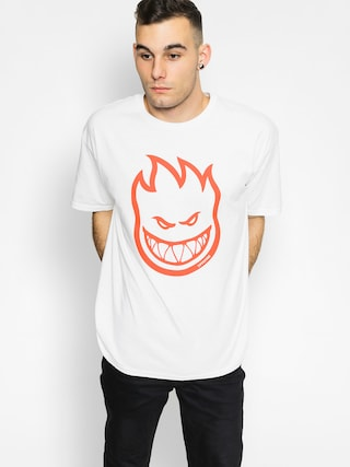 T-shirt Spitfire Bighead (white/red)