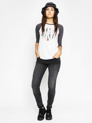 T-shirt Burton Abby Raglan Wmn (stout white)