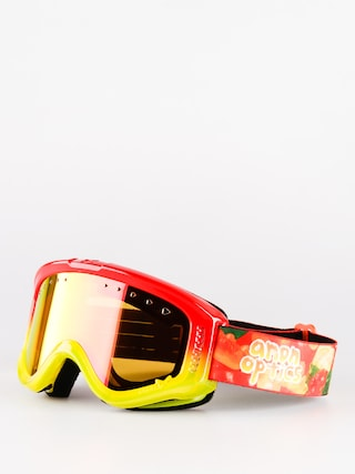 Gogle dziecięce Anon Tracker (gummy/red amber)