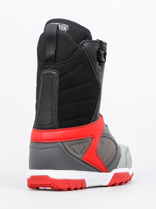 Buty snowboardowe ThirtyTwo Groomer FT (grey/black/red)