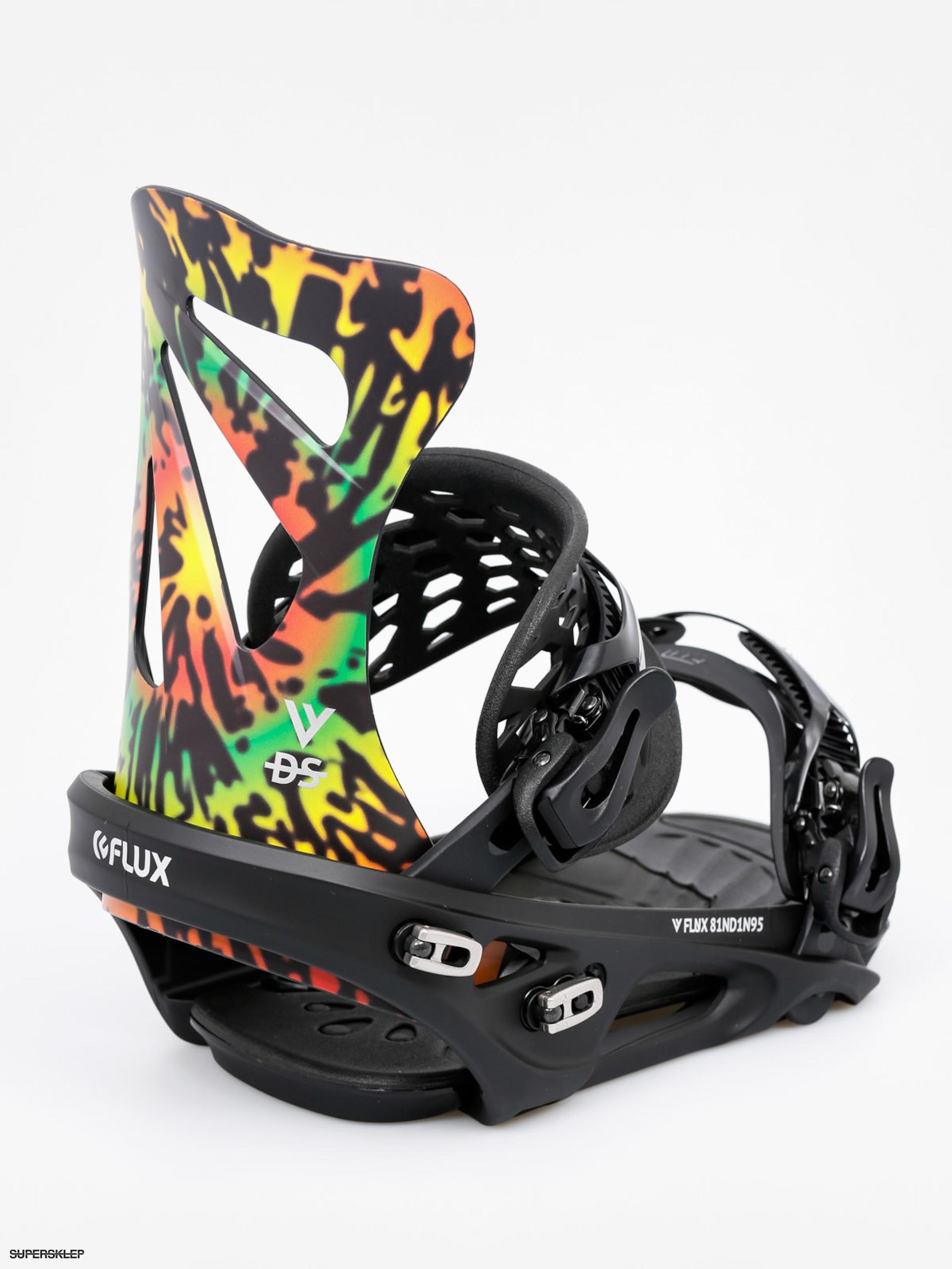 Wiązania snowboardowe Flux DS (tie dye)