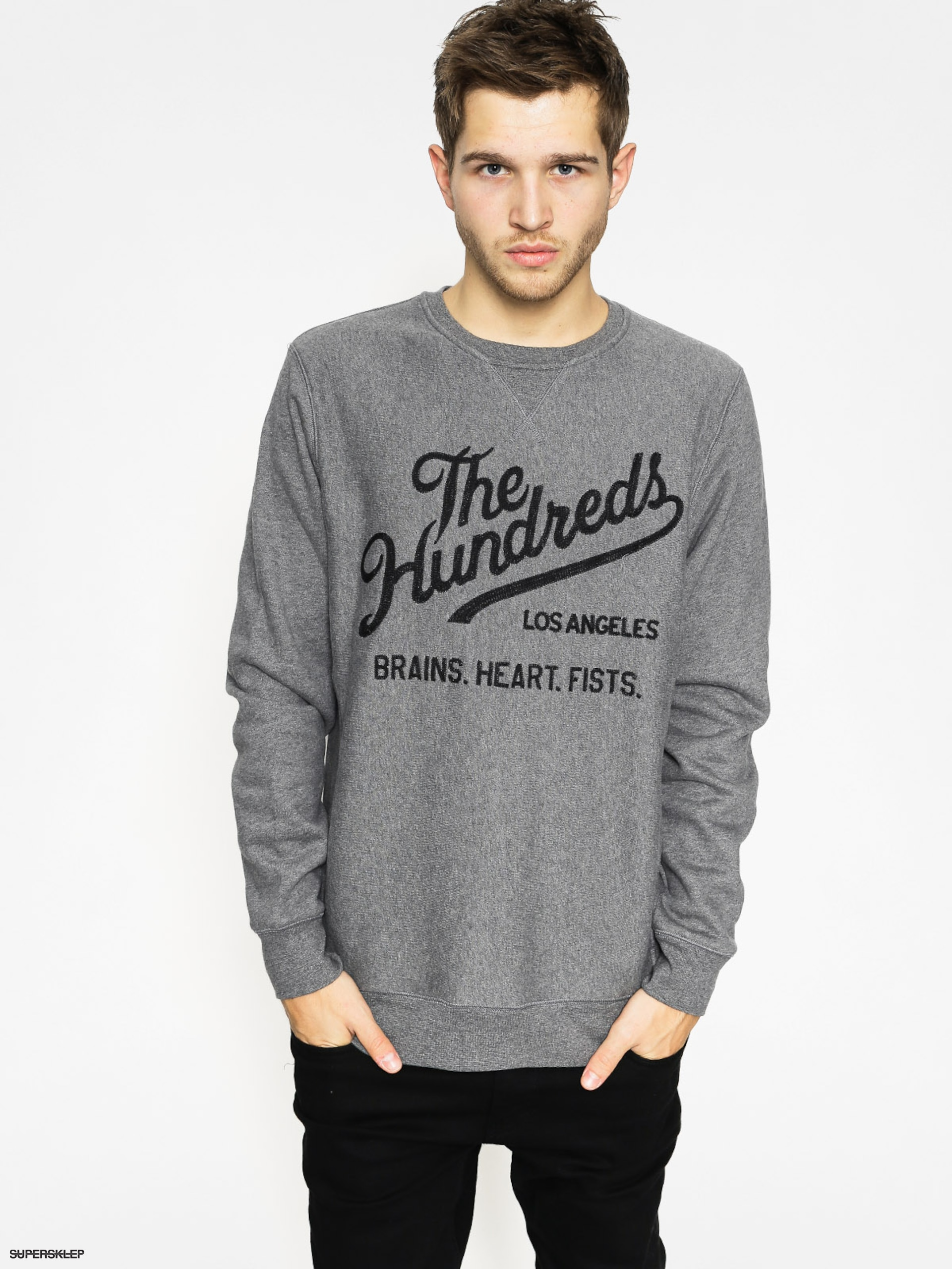 Bluza The Hundreds Tradition (athletic heather)