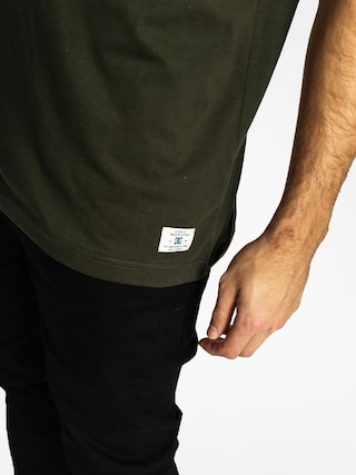 T-shirt DC Basic Pocket (dark olive)