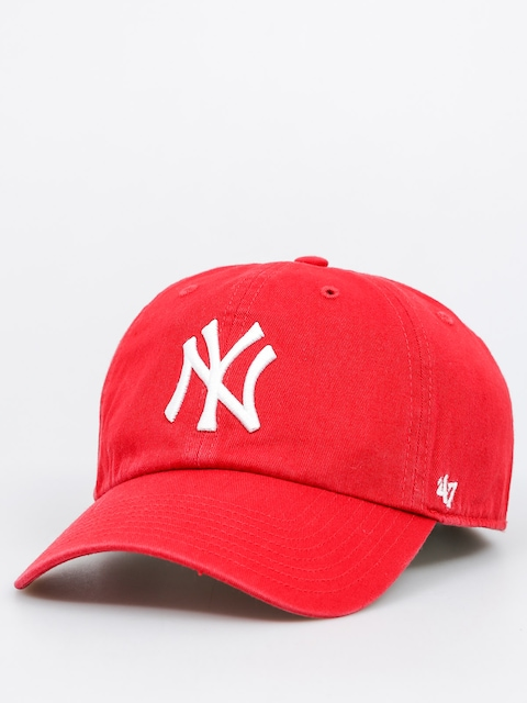 Czapka z daszkiem 47 Brand New York Yankees ZD (washed red)