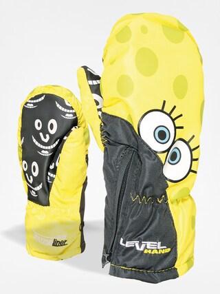 Rękawice dziecięce Level Lucky Mitt (yellow)