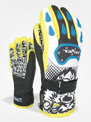 Rękawice Level Junior (black/yellow)