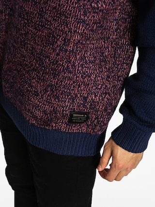 Sweter Quiksilver Time Watch (navy/brown)