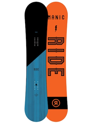 Deska snowboardowa Ride Manic (orange/black)
