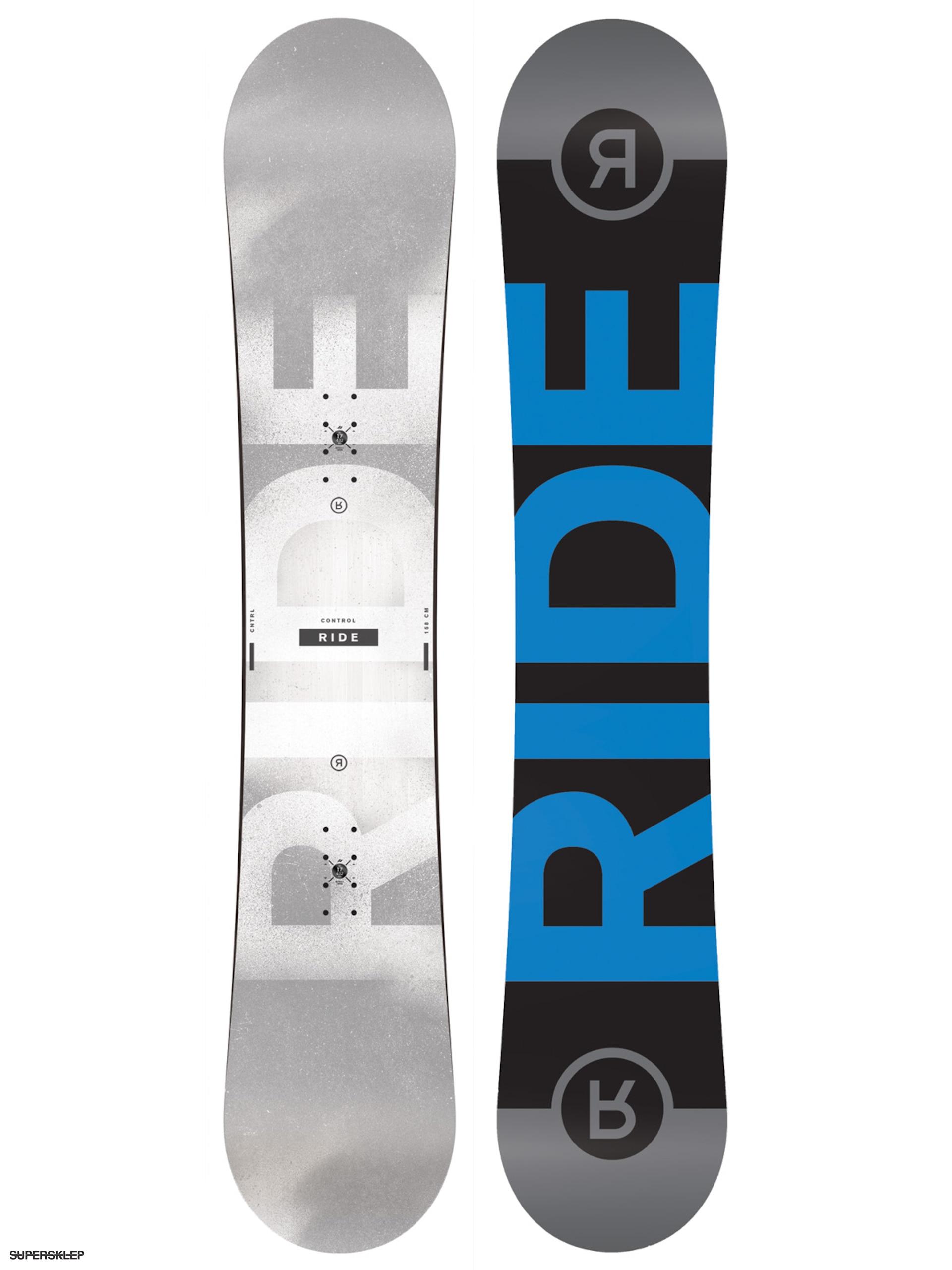 Deska snowboardowa Ride Control V2 (grey black blue) a2b942238c