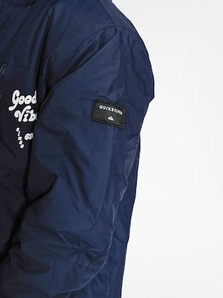 Kurtka snowboardowa Quiksilver Mission Art (navy blazer)