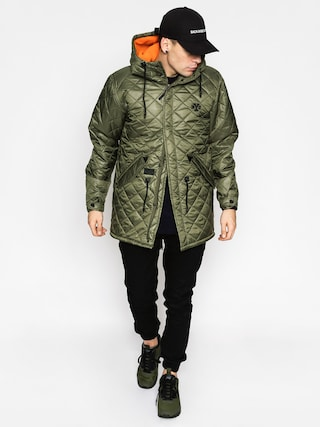 Kurtka Backyard Cartel Padded Parka Long (olive)