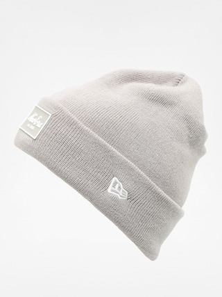 Czapka zimowa New Era Rubber Patch Cuff Beanie (grey)