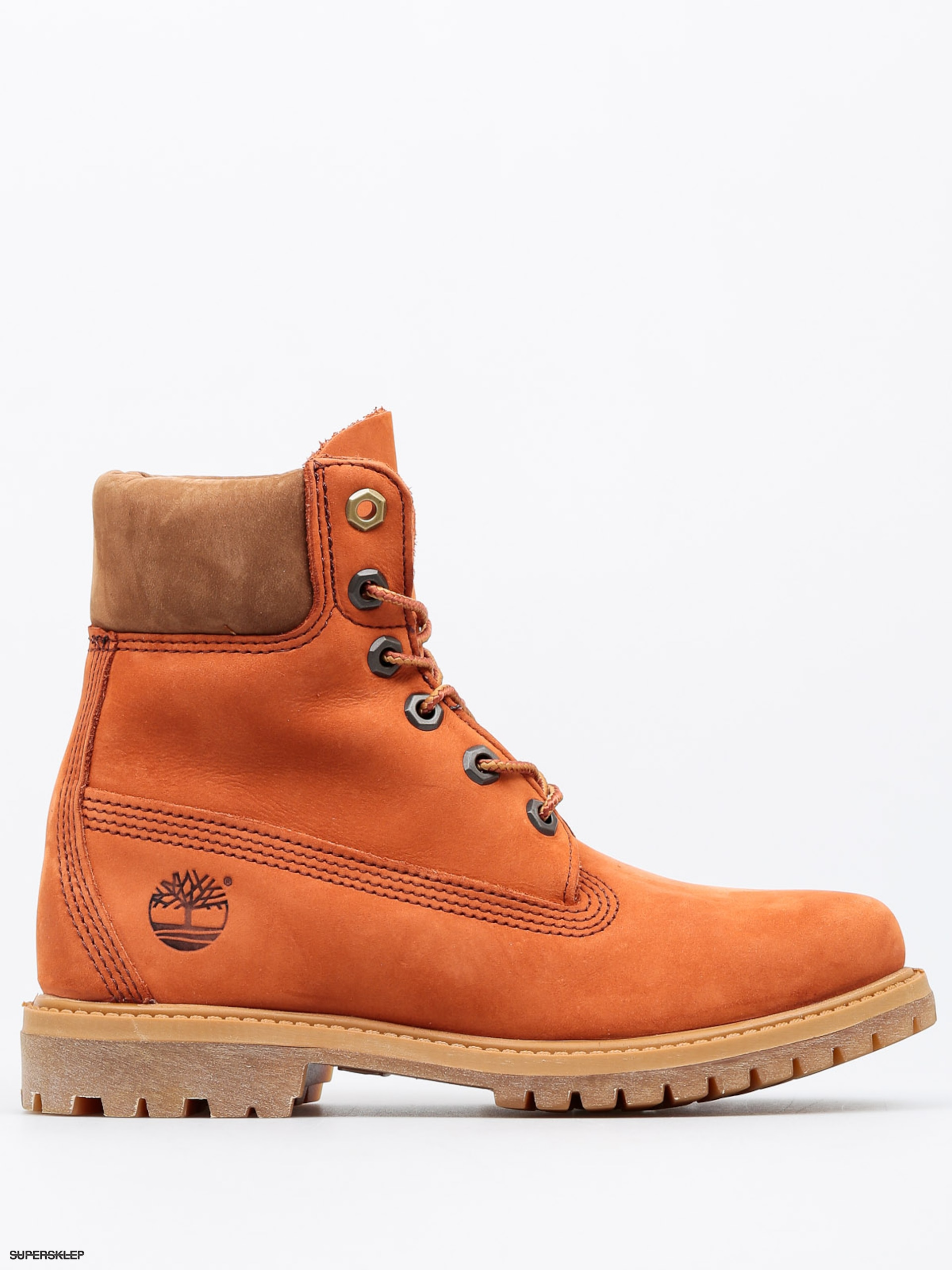 Buty Timberland 6 In Premium Wmn (dark orange)
