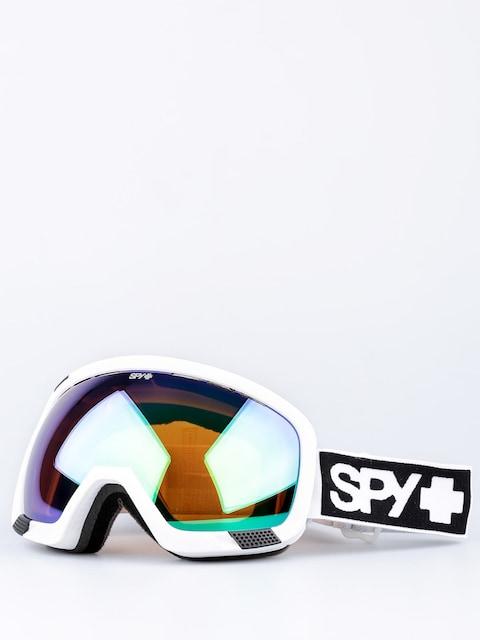 Gogle Spy Platoon (mt white/bronze/green spectra/yellow contact)