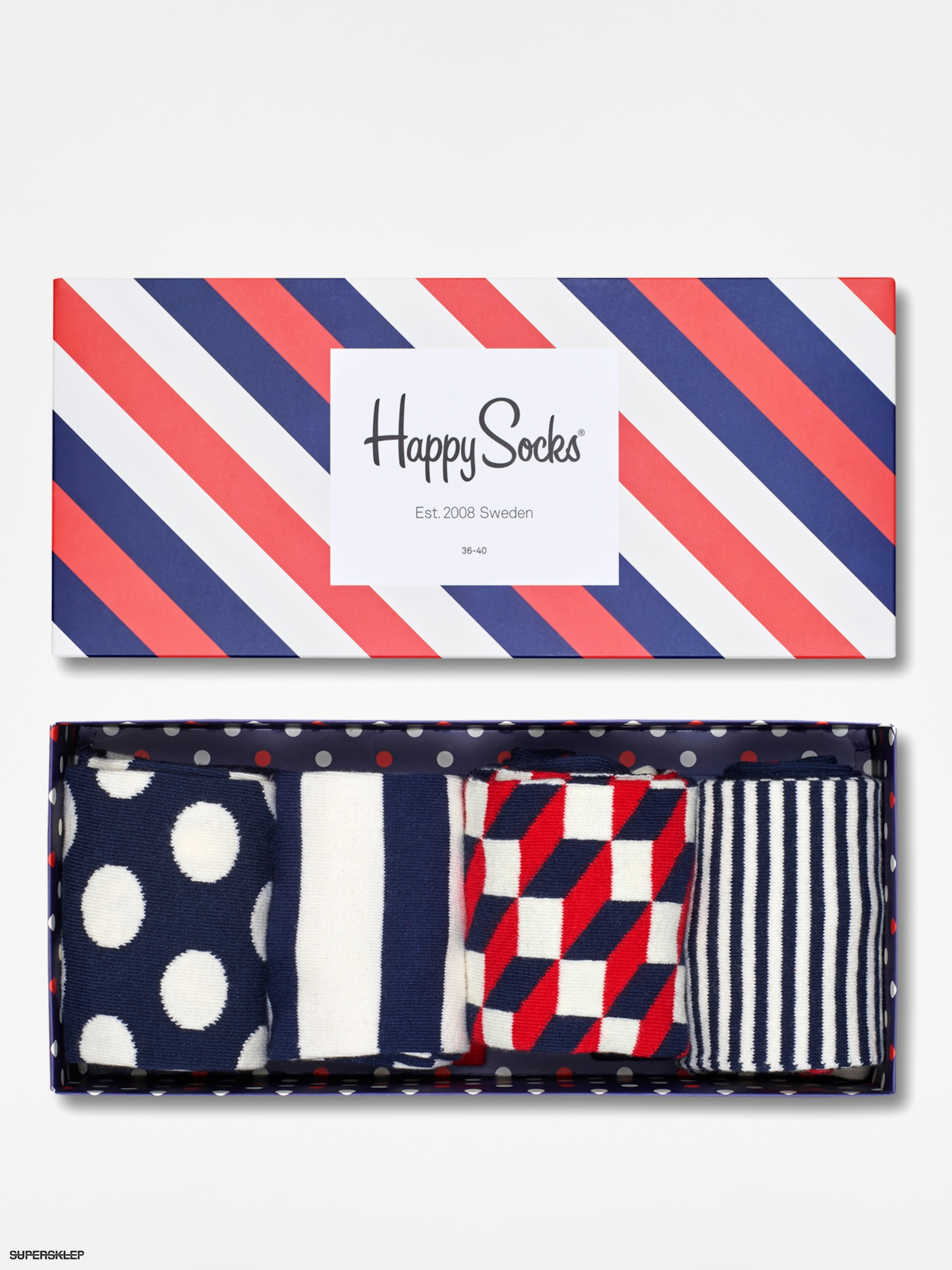 Skarpetki Happy Socks Giftbox 4pk
