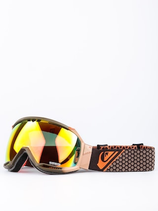 Gogle Quiksilver Hubble (flame/brown fire red)