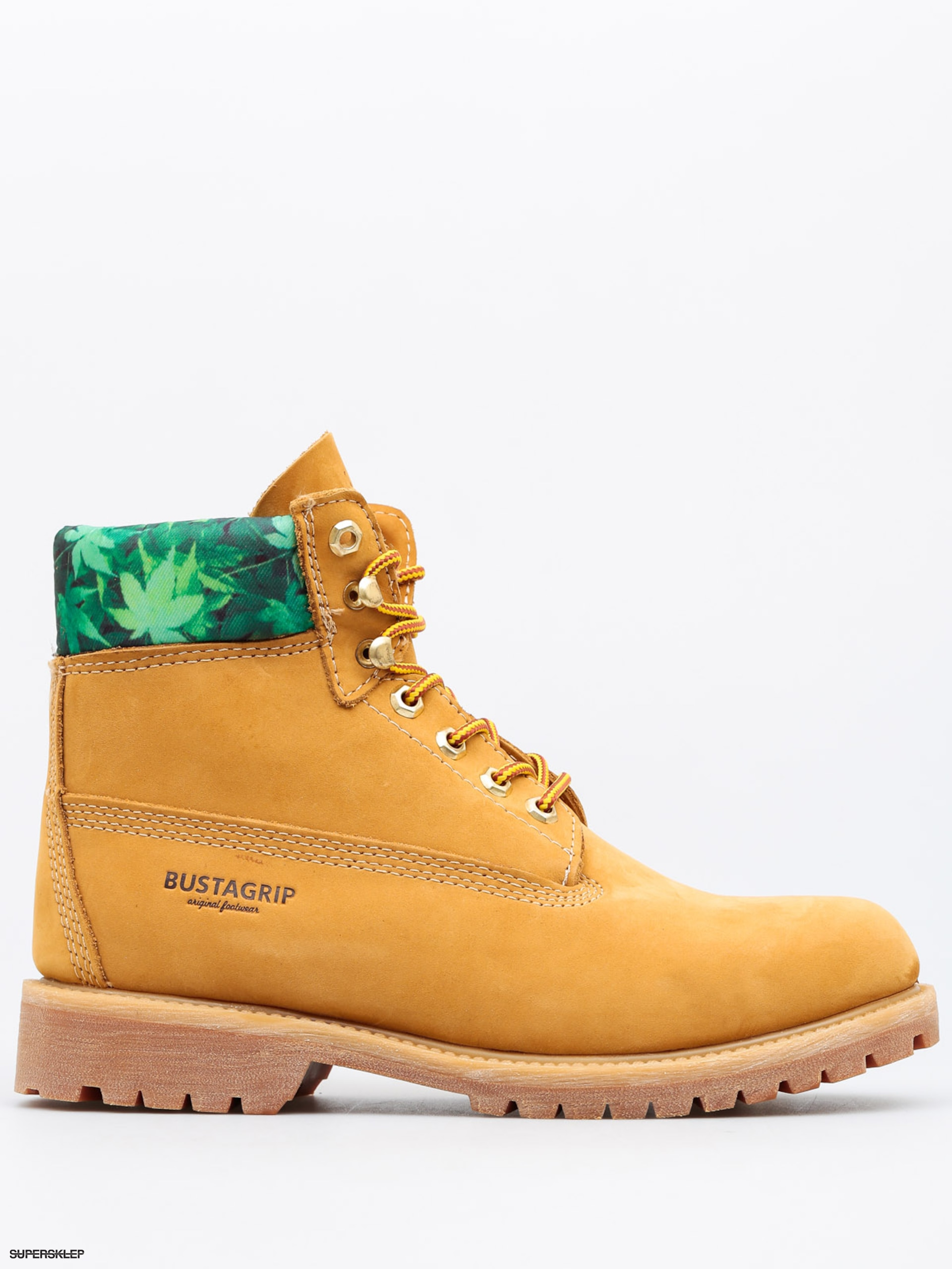 Buty Bustagrip King (yellow weed)