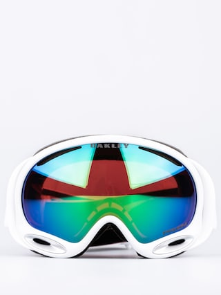 Gogle Oakley Aframe 2.0 Polished (white w/prizm jade)