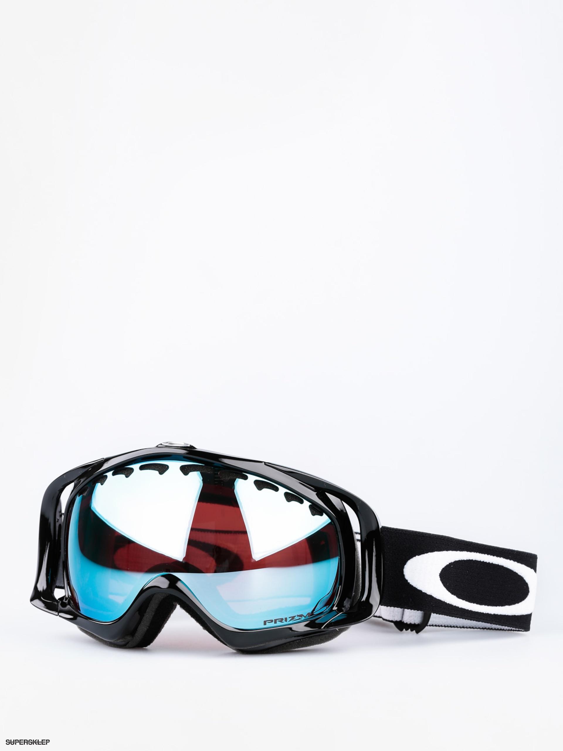 Gogle Oakley Crowbar (jet black w/prizm sapphire irid)