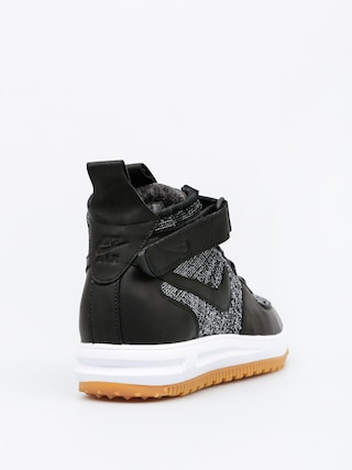 Buty Nike Lunar Force 1 Flyknit Workboot (black/white wolf grey)