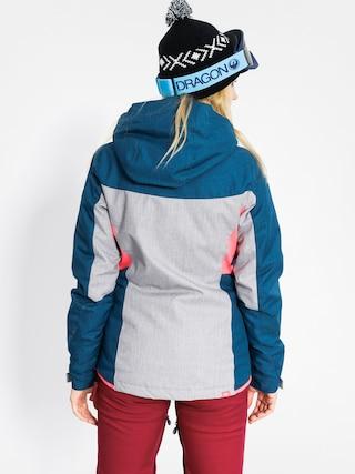 Kurtka snowboardowa Roxy Sassy Wmn (legion blue/light grey)