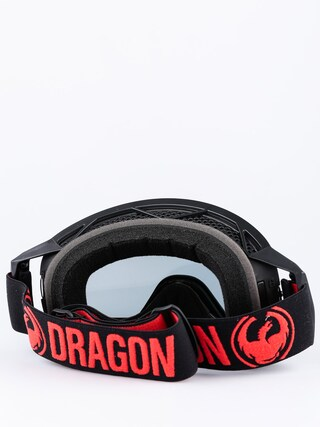 Gogle crossowe Dragon NFX2 (red/inj smoke)
