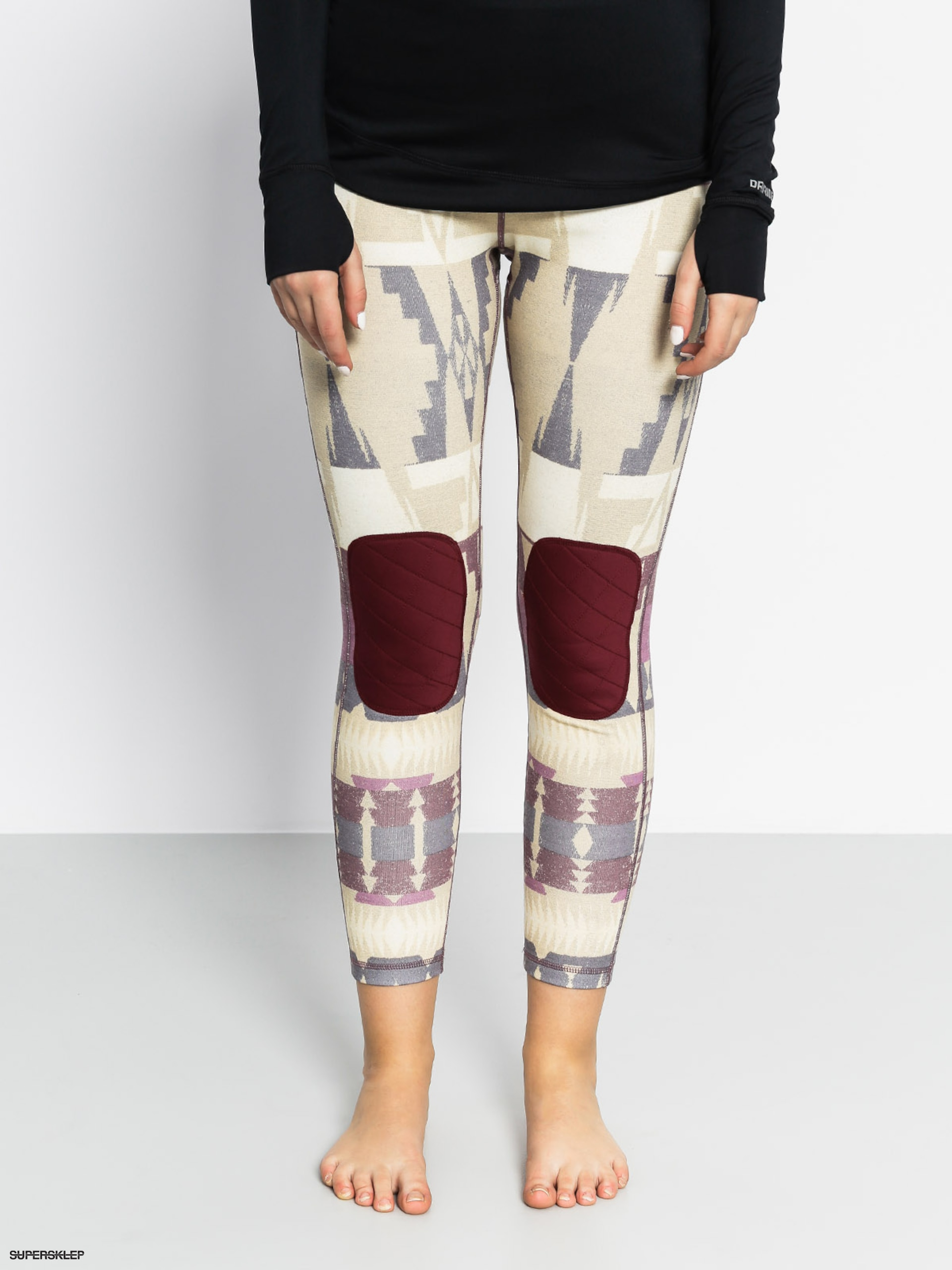 Legginsy aktywne Burton Expedition Wool Pant Wmn (vision quest)