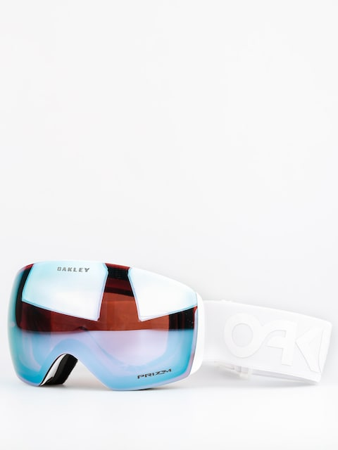 Gogle Oakley Flight Deck (factory pilot whiteout w/przm sapphire)