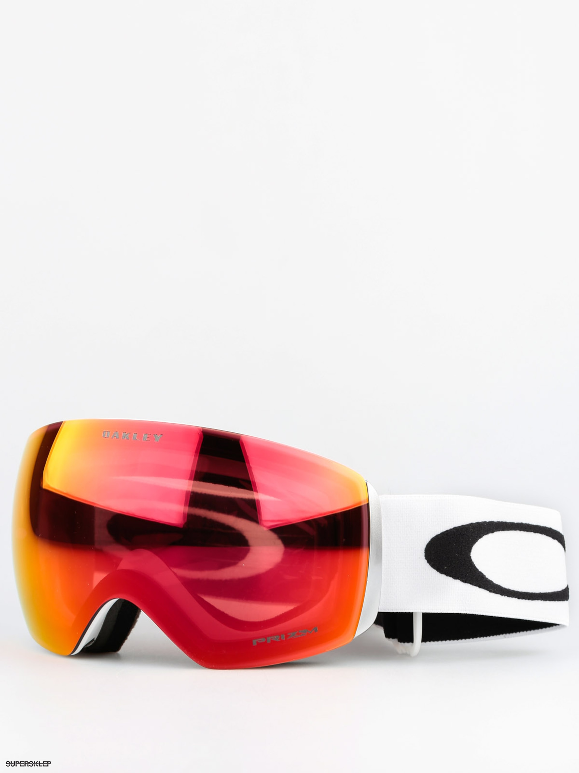Gogle Oakley Flight Deck (matte white w/prizm torch)